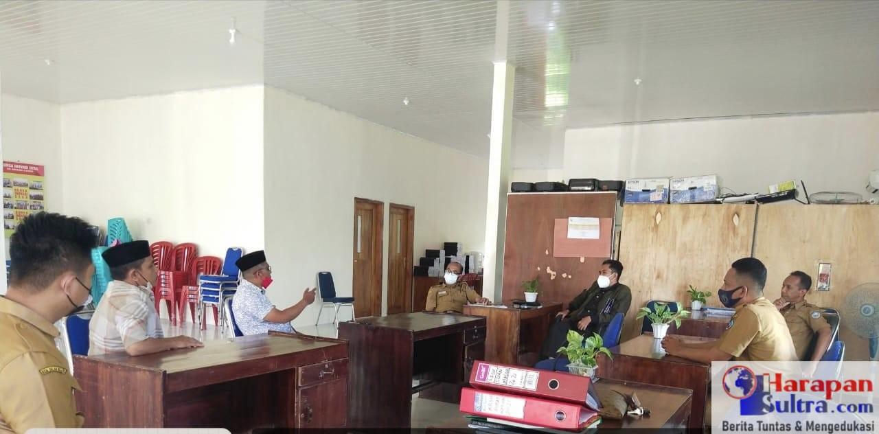 Suasana Rapat Kordinasi TAPM dengan Kepala DPMD Busel