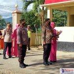 Penyambutan Kapolres Bombana AKBP Tedy Arief Soelistiyo ,S.I.K, MH