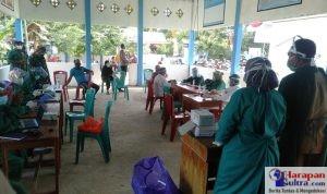 Pelaksanaan Vaksinasi Tahap 2 di Kecamatan Rarowatu Utara