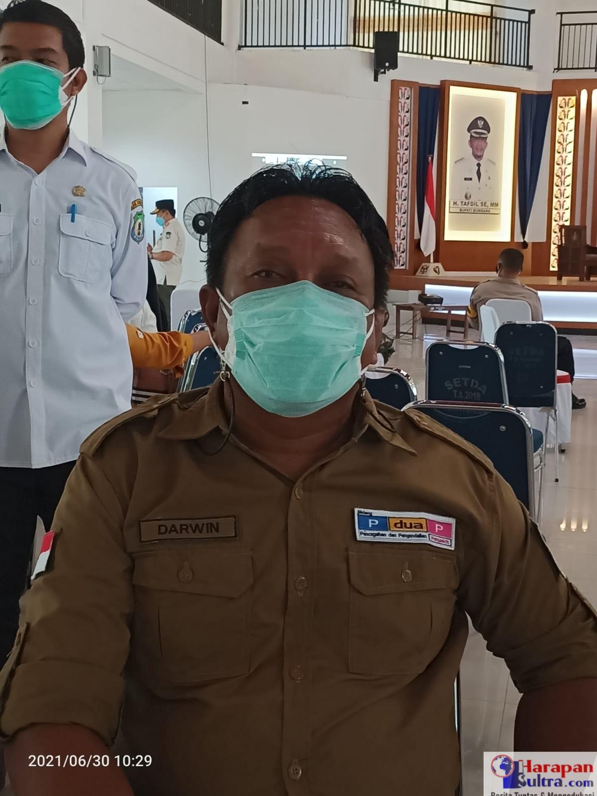 Darwin Ismail, Kepala Dinas Kesehatan Kabupaten Bombana