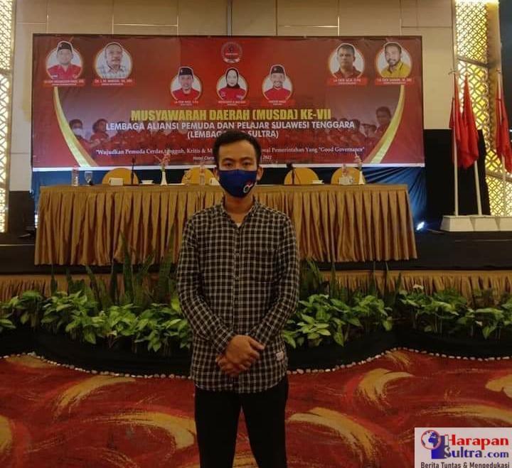 Korwil Sultra BEM DEMA se-Sulawesi, Abd. Wahid Akhyarudin