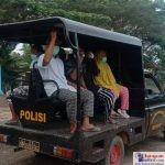 Polsek Lantari Jaya Gunakan Mobil Patroli Jemput Warga untuk Ikut Vaksinasi