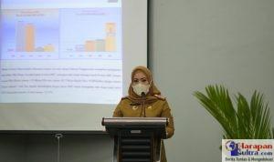 Kepala Dinas Perindustrian dan Perdagangan Provinsi Sulawesi Tenggara, Hj. Sitti Saleha,SE,M,Si