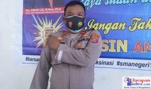 Kapolsek Lantari Jaya IPDA Setyabudi Satrianto. SH