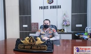 Kapolres Bombana AKBP. Teddy Arief Soelistiyo