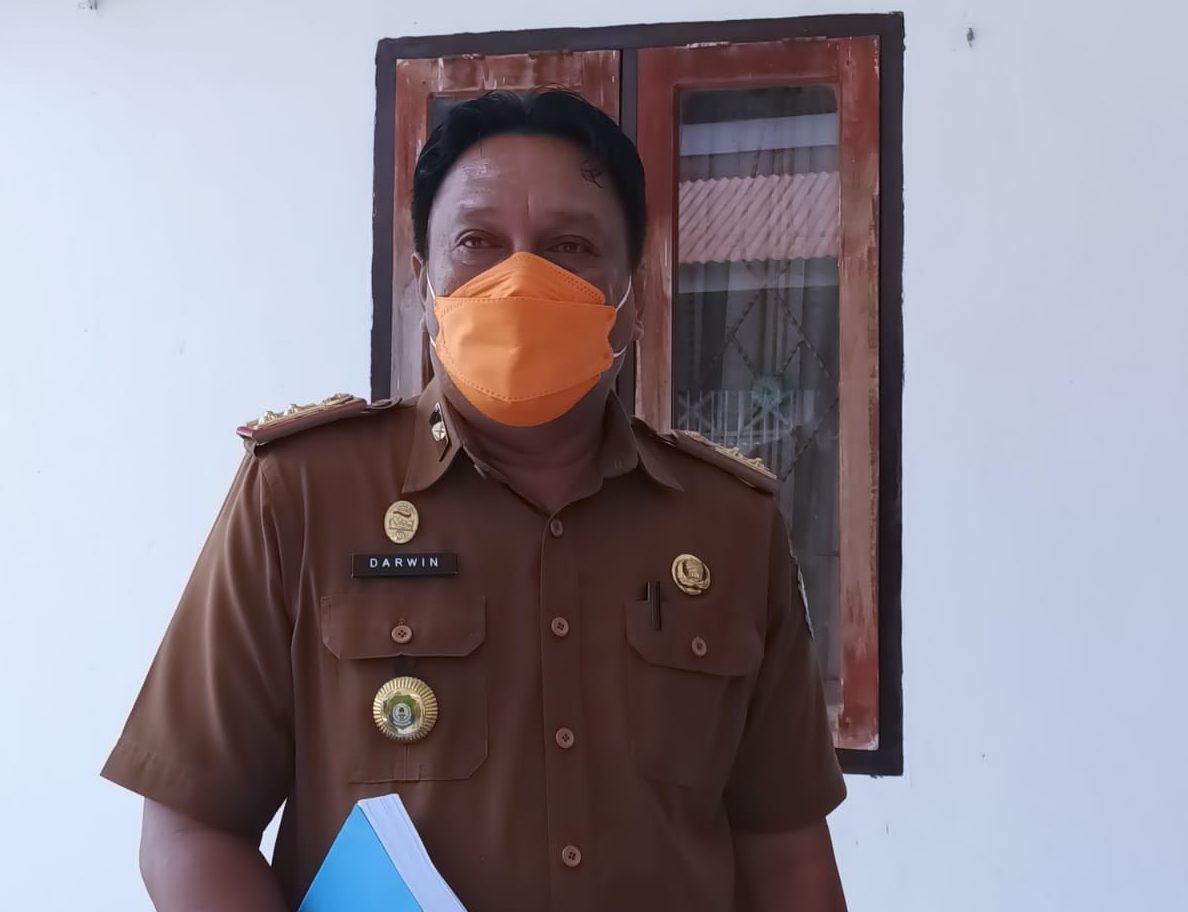 Kepala Dinas Kesehatan Bombana, Darwin Ismail, SE