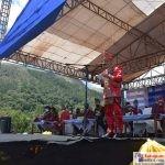 Bupati Bombana, H. Tafdil saat memberikan sambutan pembukaan Festival Tangkeno